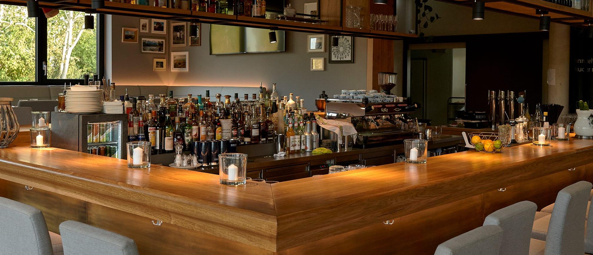 Die Bar im Südufer
